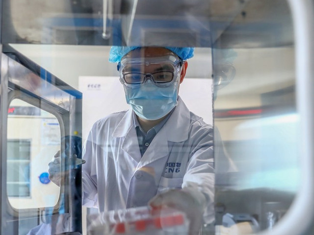 """Хятадын """"Sinopharm"""" компанийн бүтээж буй вакцин амжилттай туршигдаж буйг зарлалаа"""