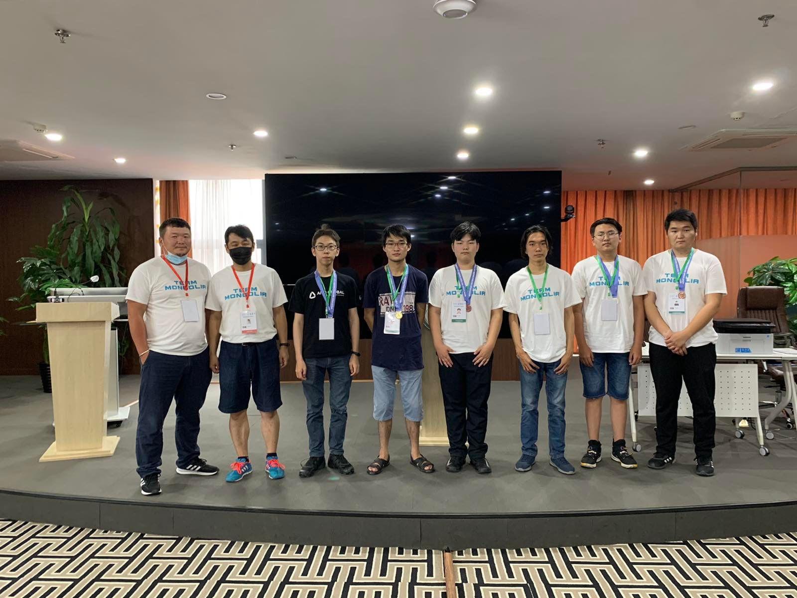 Олон Улсын Математикийн Олимпиадад Монголын баг 2 алт, 2 мөнгө, 2 хүрэл медаль хүртлээ